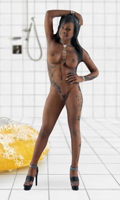 Josy black anal
